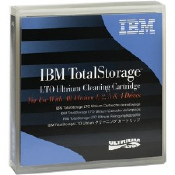 IBM 08L9124 LTO Ultrium Cleaning Cartridge (Universal 1,2,3,4)