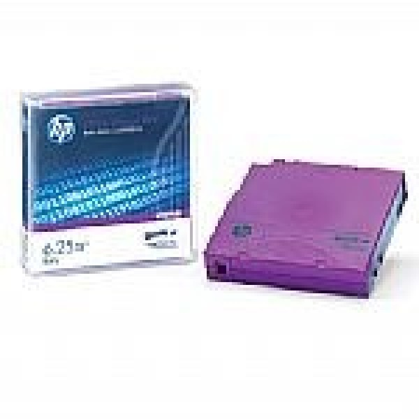 HP C7976B LTO Ultrium 6 Tape Cartridge - 2.5TB/6.25TB (BaFe)