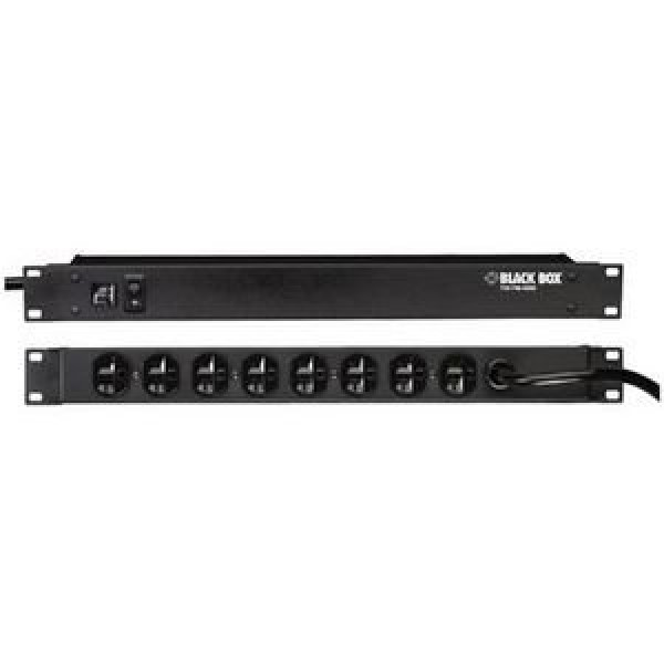 Black Box SP217A-R2 Vertical AC Power Outlet Strips with Surge Protection