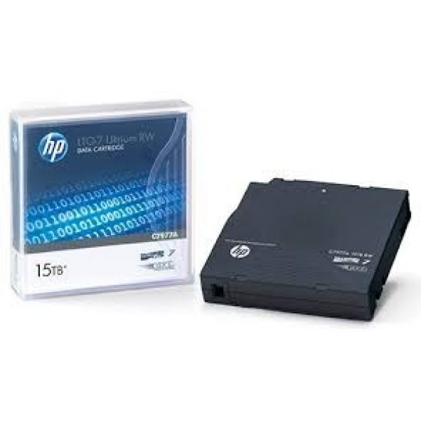 HP C7977B LTO-7 Ultrium Data Backup Tape Cartridge (6.0TB/15TB)