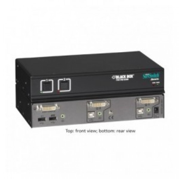 Black Box SW2007A-USB 2-Port ServSwitch Secure with USB