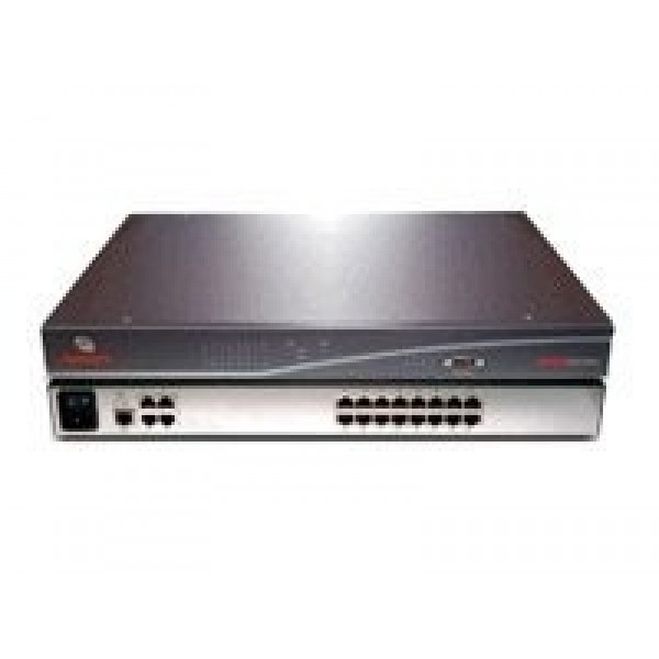 Avocent AMX5030-201 4 output and 16 input port rack mountable matrix switch with rack mount kit and AMWorks software