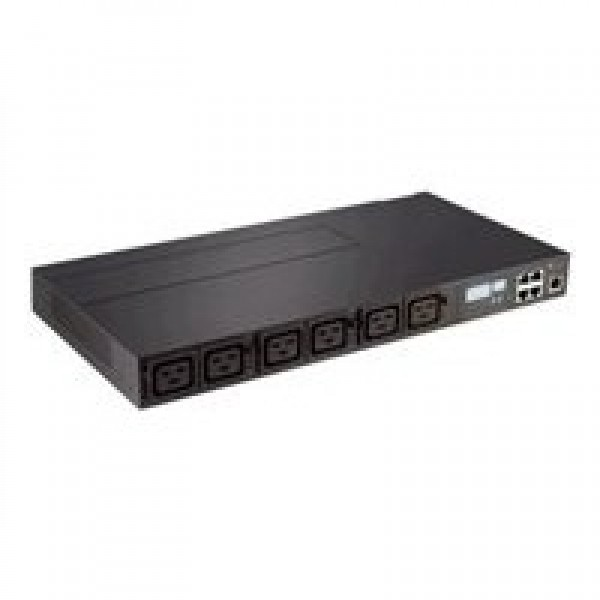 Avocent PM3002H-401 Avocent PM3000 1U Horizontal 3-ph 24A 208V, fixed cord with L15-30, 6 C19 ports