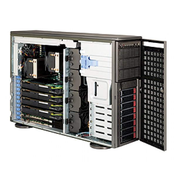 Supermicro 5520 (Tylersburg-36D) DP Xeon 4U Quad 7046 Series 7046GT-TRF SuperServer