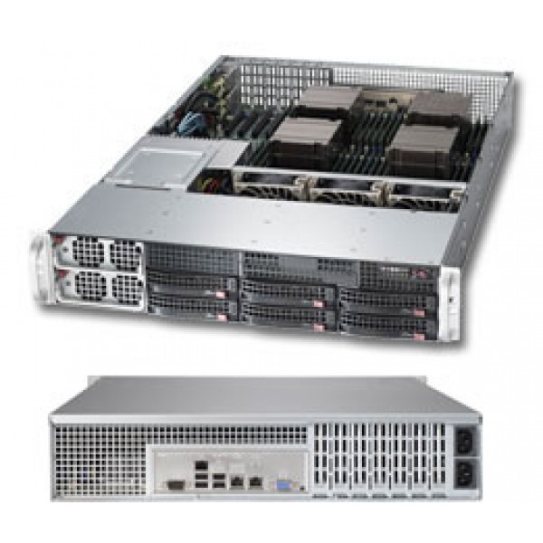 Supermicro E5-4600 + C600 based 8027R-TRF SuperServer