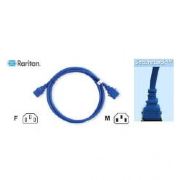 Raritan SLC14C13-0.5MK2-6PK SecureLock Locking Cable