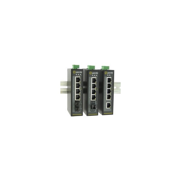 Perle 07010000 IDS-105F Industrial Ethernet Switch 5 port Compact DIN Rail Switch