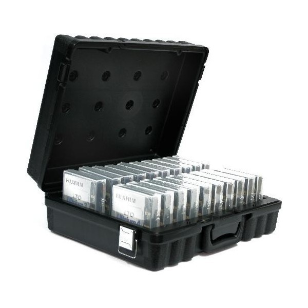 TURTLE 01-672900 LTO 20 Tape Storage and Transport Case, 20 LTO Tape Capacity