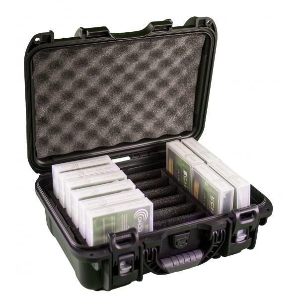 TURTLE 07-519002 Waterproof Tape 10 Media Storage Box
