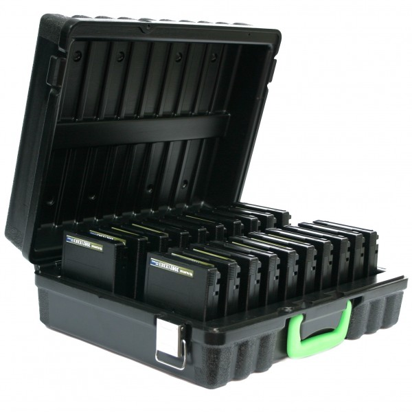 TURTLE 03-679299 20 capacity Data Cartridge Storage Case Black