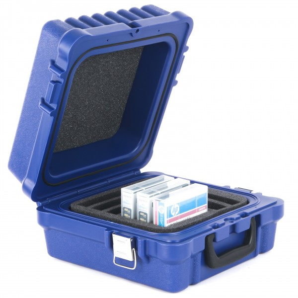 TURTLE 01-679103 LTO-10 Capacity WATERPROOF Case blue