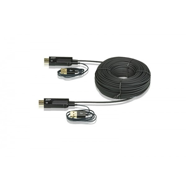 ATEN VE875 HDMI Active Optical Cable, 100m