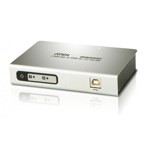 ATEN UC4852 2-Port USB-to -Serial RS-422/485 Hub
