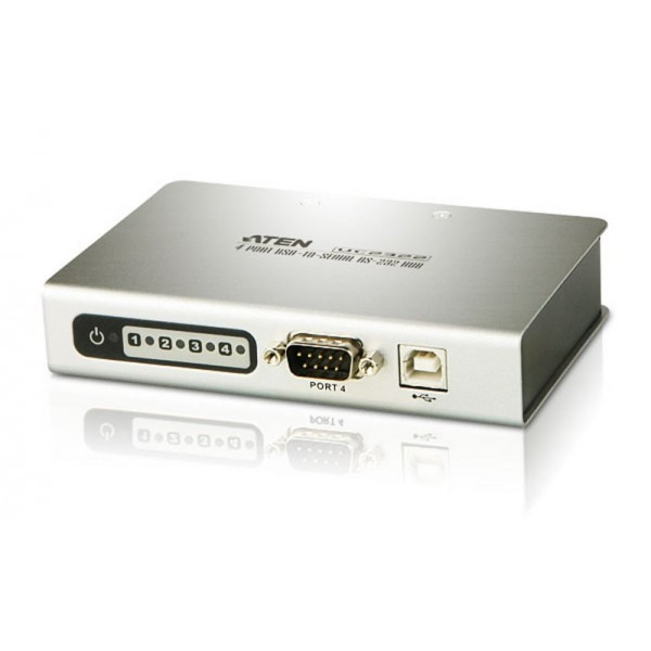 ATEN UC2324 4-Port USB-to -Serial RS-232 Hub