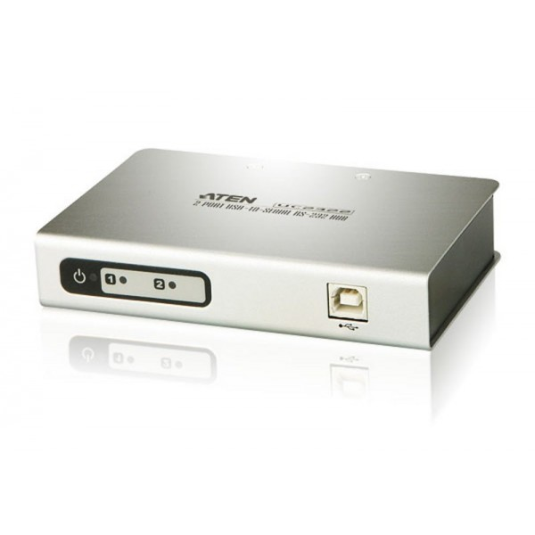 ATEN UC2322 2-Port USB-to -Serial RS-232 Hub