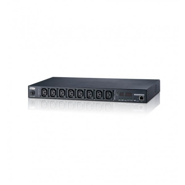 Aten PE5108 15A/10A 8-Outlet 1U Metered  Eco PDU