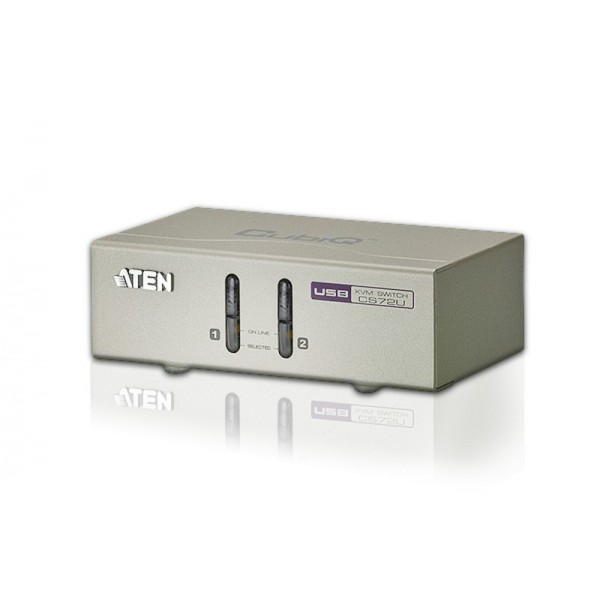 ATEN CS72U 2-Port USB KVM Switch