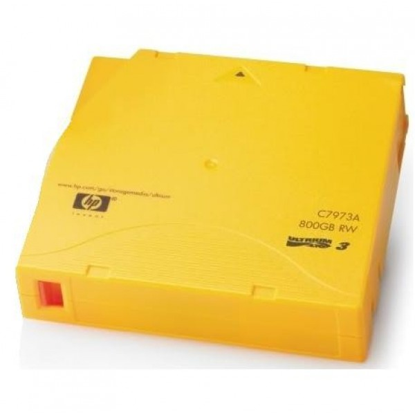 HP C7973A-B LTO-3 Backup Tape Cartridge(400GB/800GB Bulk Pack)
