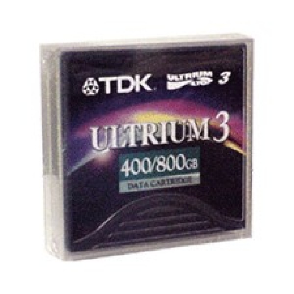 TDK D2406 LTO-3 Backup Tape Cartridge (400GB/800GB) Retail Pack