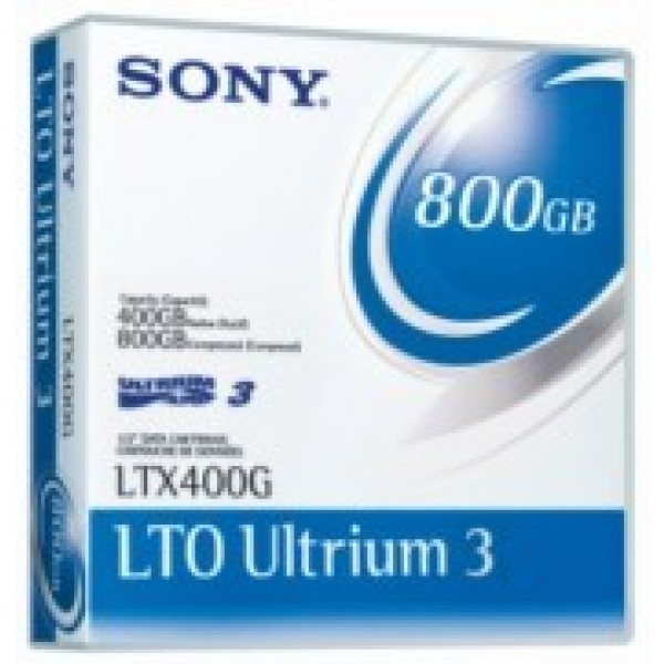Sony LTX400GWW LTO-3 Backup Tape Cartridge (400GB/800GB) Retail Pack