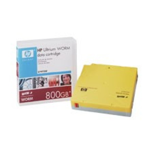 HP C7973W LTO-3 Backup WORM Tape Cartridge (400GB/800GB) Retail Pack