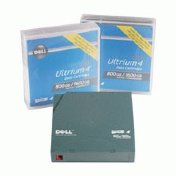 Dell 341-4647 LTO-4 Backup WORM Tape Cartridge (800GB/1.6TB) Retail Pack