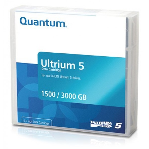 Quantum MR-L5MQN-01 LTO-5 Backup Tape Cartridge (1.5TB/3.0TB) Retail Pack