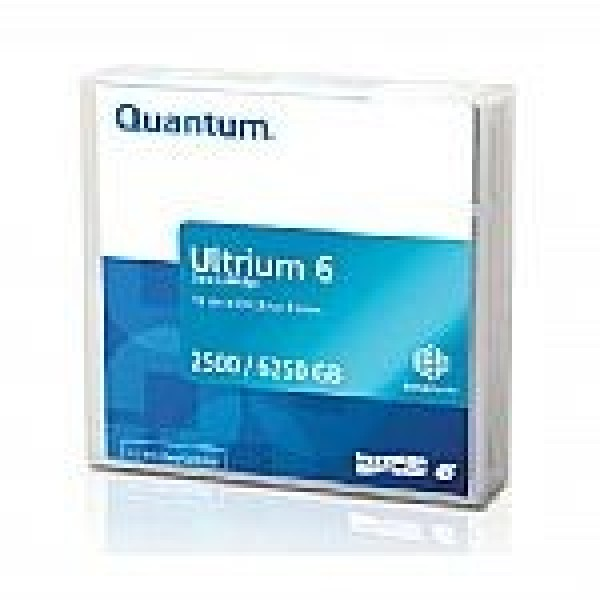 Quantum MR-L6MQN-01 LTO Ultrium 6 Tape Cartridge - 2.5TB/6.25TB (BaFe)