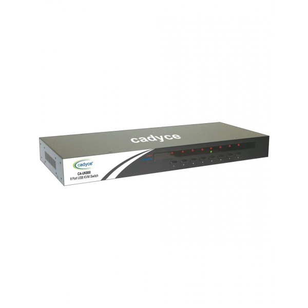 Cadyce CA-UK800 8 Port USB KVM