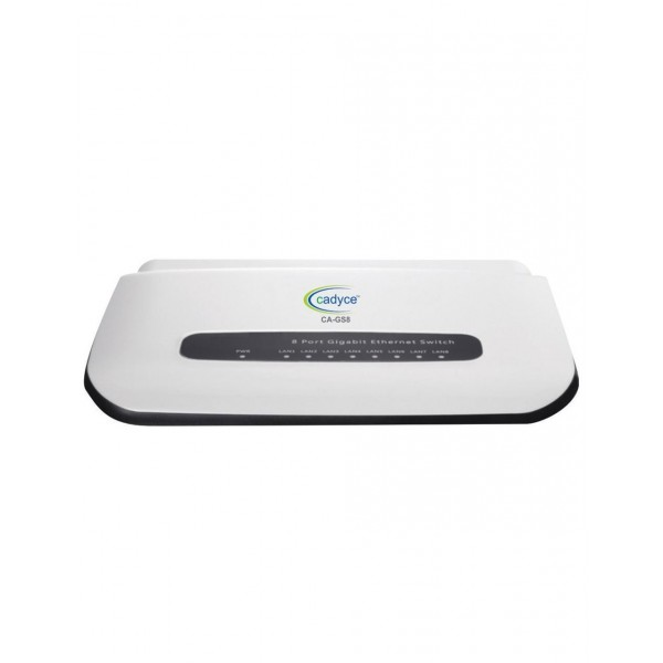 Cadyce CA-GS8 8 Port Gigabit Ethernet Switch