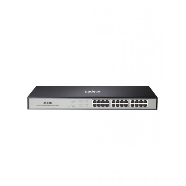 Cadyce CA-GS24 24 Port Gigabit Ethernet Switch