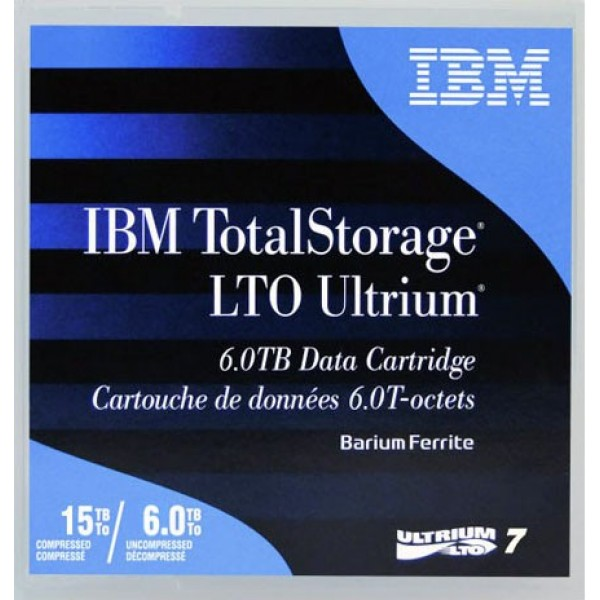 IBM 38L7302 LTO Ultrium 7 Backup Data Cartridge (6TB/15TB)