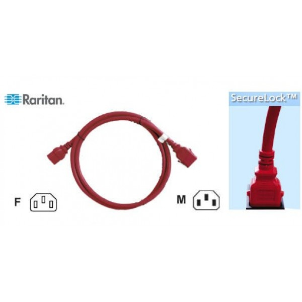 Raritan SLC20C19-2.5MK1-6PK SecureLock Locking Cable