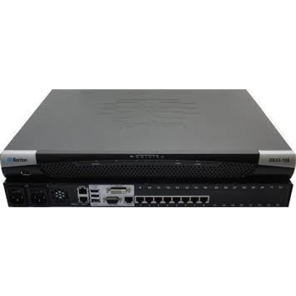 Raritan DKX3-108-PAC 8-port 1 User KVM-over-IP Switch