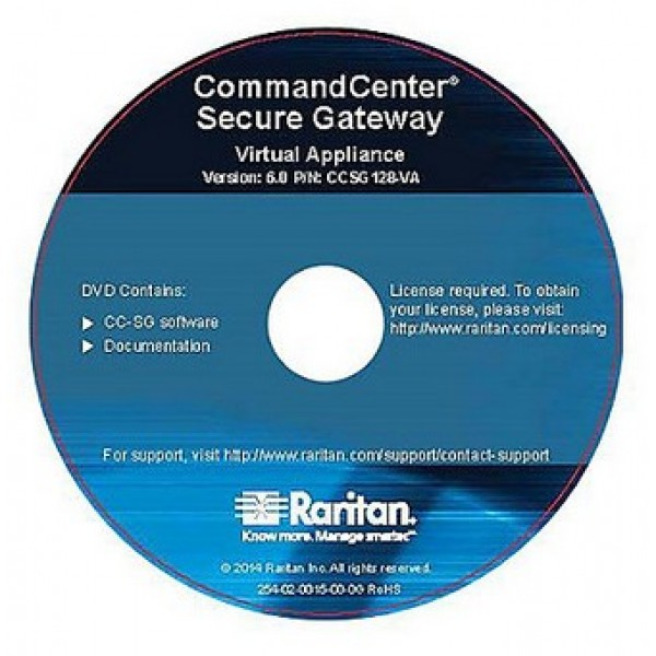 Raritan CCSG128-VA CommandCenter Secure Gateway Software