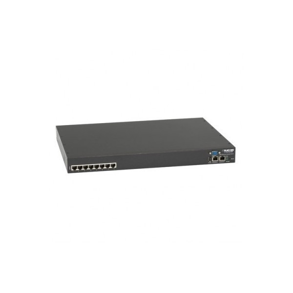 Black Box LES1208A-R2 RJ-45 Serial   Ports + Dual Ethernet