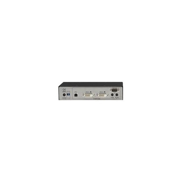 Black Box ACR1002A-R ServSwitch Agility Dual DVI, USB, and Audio KVM Extender over IP