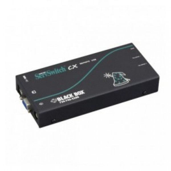 Black Box KV04AUS-REM ServSwitch CX Uno USB Remote Access Module with Audio and Skew Compensation