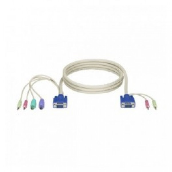 Black Box EHN70045-0006 ServSwitch DT Basic with Audio Computer Cable