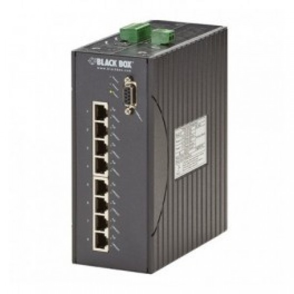Black Box LEH1008A-2MMSC Hardened Managed Ethernet Switch