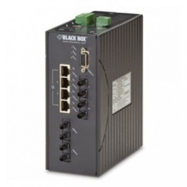 Black Box LEH1104A-2GSFP Hardened Managed Ethernet Switch
