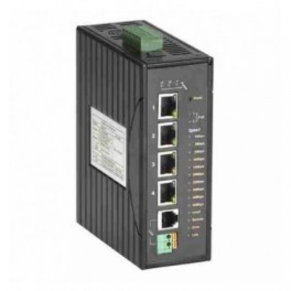 Black Box LBPS304A Hardened VDSL Ethernet Extender with PoE+ 4-Port