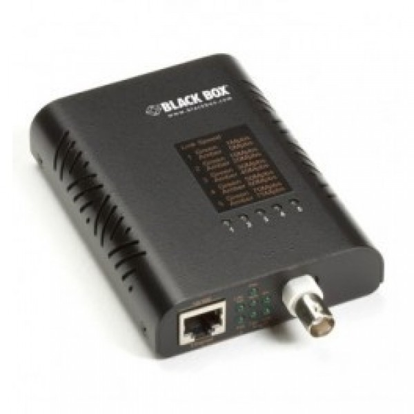 Black Box LBNC300AE LinkGain Ethernet Extender over Coax