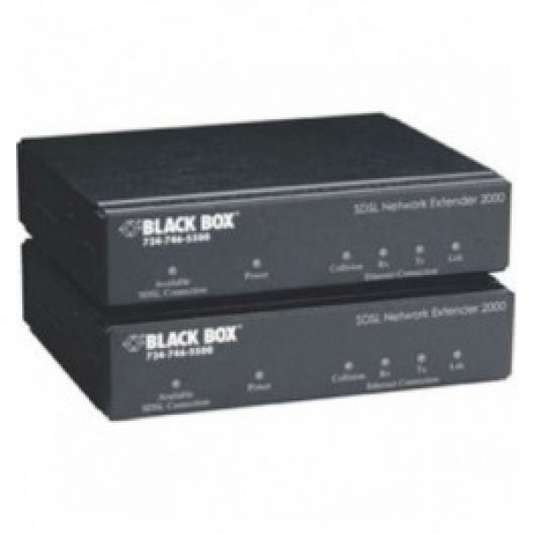 Black Box LR0020A-KIT-R2 SDSL Network Extender 2000 Kit