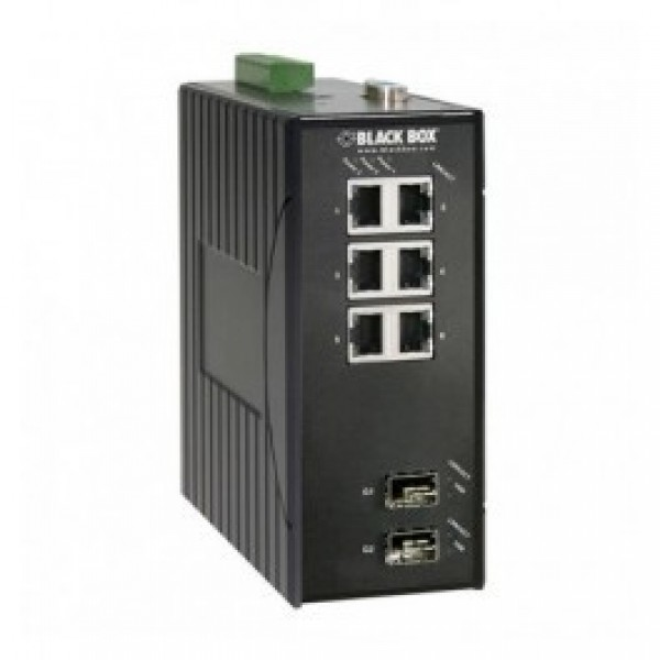 Black Box LEH906A-2GSFP Hardened Managed Ethernet Switch