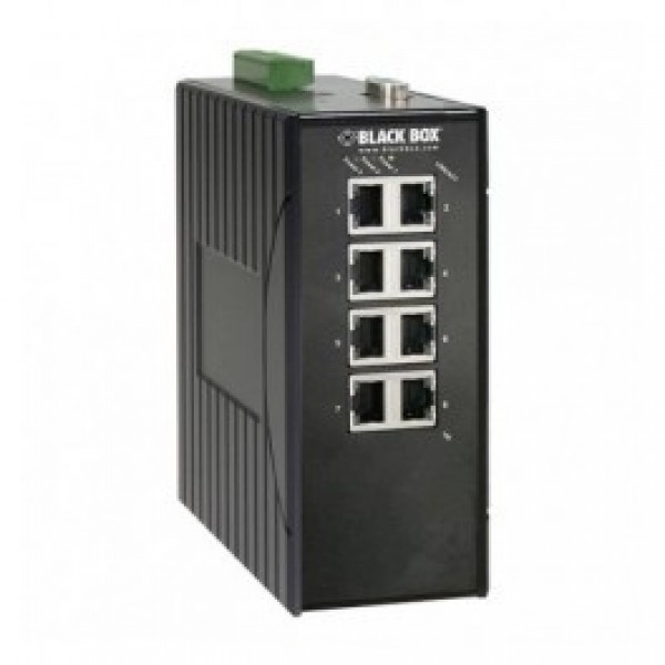 Black Box LEH908A Hardened Managed Ethernet Switch