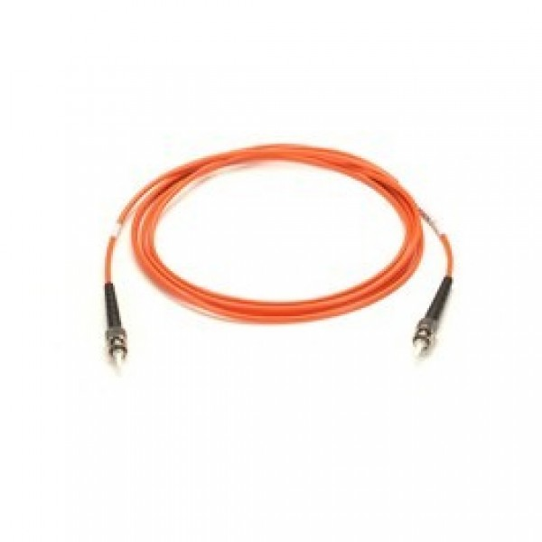 Black Box EFN110-002M-ST Premium Ceramic, Multimode, 62-5-Micron Fiber Optic Patch Cable