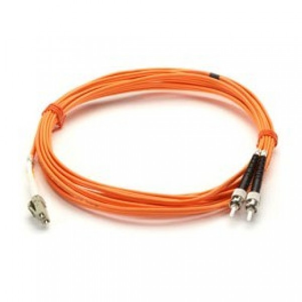 Black Box EFP110-015M-STLC Premium Ceramic, Multimode, 62-5-Micron Fiber Optic Patch Cable