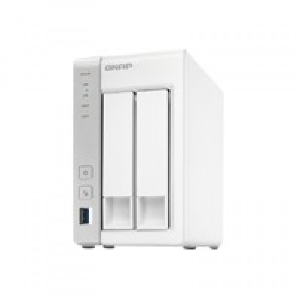 Qnap TS-231+ Powerful yet affordable 2 -bay NAS
