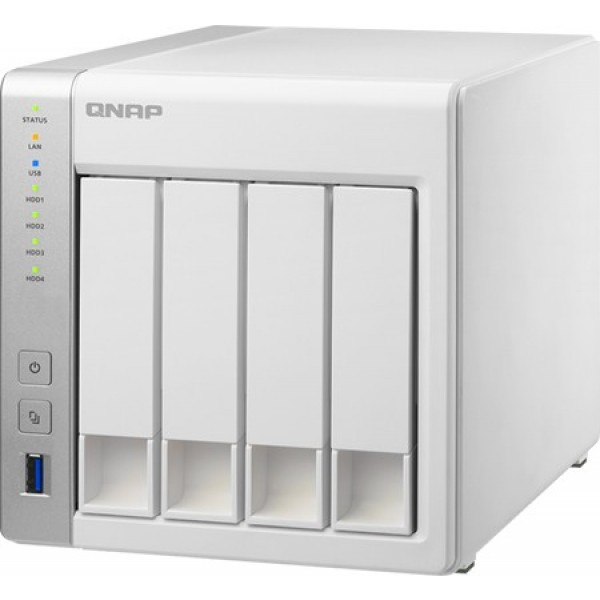 Qnap TS-431+ Powerful yet affordable 4 -bay NAS